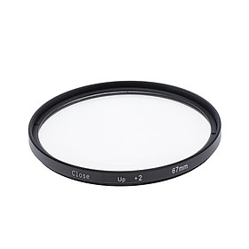 67mm Lens Close-up  Filter +2 Diopters for 10 18 8 15 70 200mm