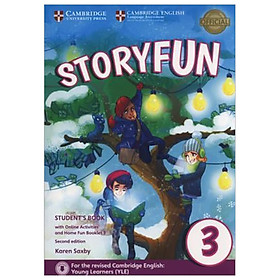 Storyfun for Movers Lv 3 - SB w Online Act & Home Fun Bkl
