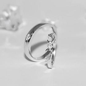 Nhẫn Đôi Love Wings 1 Glosbe Jewelry