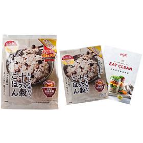 16 loại hạt tặng 1 gói 16 loại hạt 180g & Cuốn cẩm nang Eat-Clean