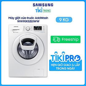 Máy giặt Samsung Inverter 9 kg WW90K52E0WW/SV - Chỉ giao Hà Nội