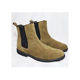 Chelsea Boot da lộn bò cao cấp B09