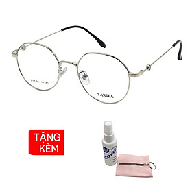 Gọng kính, mắt kính chính hãng SARIFA 3297 B - Tặng 1 khăn và nước lau kính