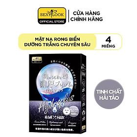 Mặt Nạ Rong Biển SEXYLOOK Dưỡng Trắng Chuyên Sâu (Hộp 4 Miếng x 28ml)