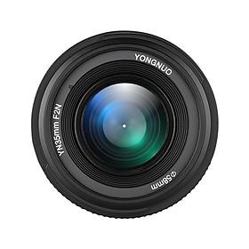 Ống Kính Góc Rộng Một Tiêu Cự YONGNUO YN35mm F2N Cho Máy Ảnh DSLR Nikon D7200 D7100 D7000 D5300 D5100 D3300 D3200 D3100 D800 D600 D300S D300 D90 D5500 D3400 D500 DSLR (35mm)