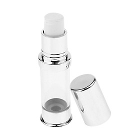 5ml Clear Sterile Airless Pump Clear Bottles Foundations Cosmetics Reusable