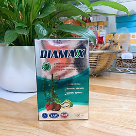 DIAMAX – Giảm biến chứng tiểu đường, đường huyết và cholesterol - Hộp 60 viên