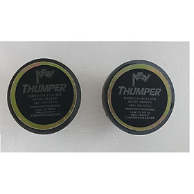 1 Đôi loa tép công suất lớn từ 120, hàng chính hãng Thumper, đáp ứng yêu cầu tuyến tính tốt, cho tiếng treble sâu, mạnh mà không gây cảm giác chói tai người nghe