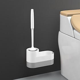Bộ chổi cọ rửa nhà vệ sinh, nhà tắm kèm chỗ để đồ thông minh