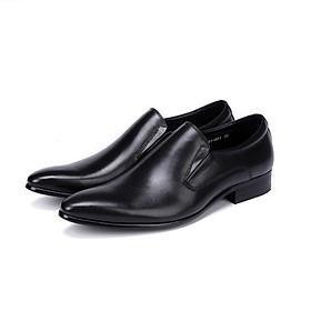 Giày da nam công sở kiểu trơn lịch lãm M201