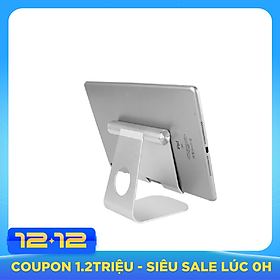 Stand/ Giá Đỡ Nhôm Gập, Kê Mọi iPad có thể thay đổi góc nghiêng - Lazy Stand