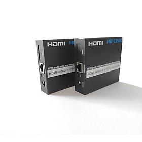 Bộ kéo dài HDMI 120m qua cáp mạng lan Ho-link HL-HDMI-120T/R (2 thiết bị) - Hàng Chính Hãng