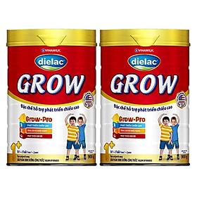COMBO 2 HỘP SỮA BỘT DIELAC GROW 1+ 900G (CHO TRẺ TỪ 1 - 2 TUỔI)