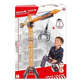 Bộ Đồ Chơi Cần Trục Xây Dựng Dickie Toys Mega Crane Set (120cm)