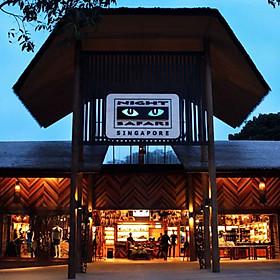 Vé Tham Quan Night Safari Singapore