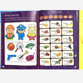 Bảng Nói Điện Tử Song Ngữ Giúp Trẻ Tăng Khả Năng Tư Duy - Tặng chong chóng đồ chơi