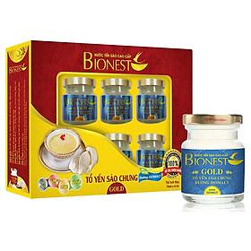 Hộp Yến sào Bionest Gold Isomalt cao cấp (dành cho người tiểu đường) - hộp 6 lọ