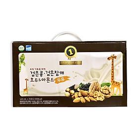 1 thùng Sữa Dinh Dưỡng Tăng Chiều Cao từ Óc chó Hạnh nhân Đậu đen hiệu Golden Health (thùng 20 bịch 195ml)-0