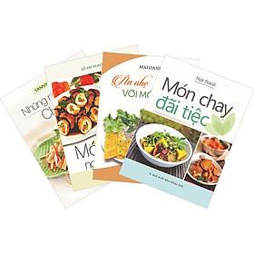 Combo 4 Cuốn: Ăn Nhẹ Với Món Chay - Những Món Chay Ngon - Món Chay Đãi Tiệc - Món Chay Ngon Và Lành.