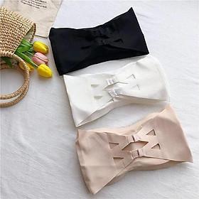Áo bra không dây có đệm ngực 2 móc Cài Sau