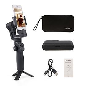 Gậy Chụp Ảnh Selfie FUNSNAP Capture 2 3 Chân Tự Động Cho Iphone Samsung Xiaomi Huawei - Đen