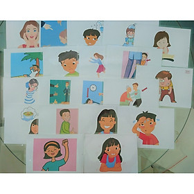 Feeling (Emotion) Flashcards - Bộ thẻ học tiếng Anh chủ đề cảm giác - 20 thẻ