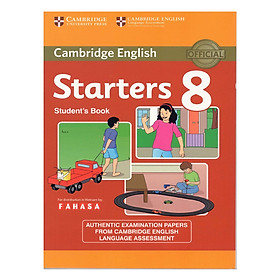 Cambridge Young Learner English Test Starters 8: Student Book