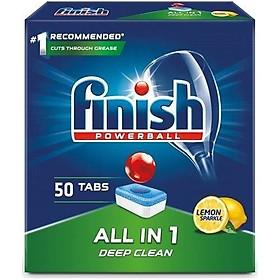 Viên rửa bát Finish All in one 50 viên