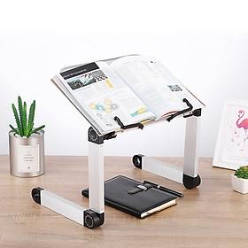 Giá đỡ Ipab và Laptop tùy chỉnh độ cao , giá đỡ đọc sách để bàn tiện dụng - hàng chính hãng