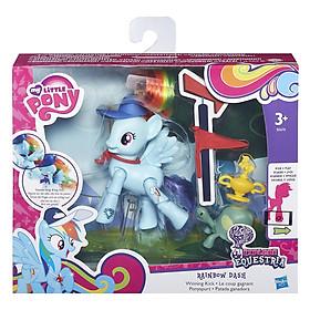 Mô Hình EE - Pony Cầu Vồng My Little Pony B5676/B3602 (Có Thể Cử Động Khớp)