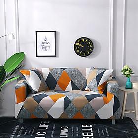 Sofa Covers Furniture Protector Polyester Sofa Cover Sofa Towel Non-slip Combination Vintage Sofa Cushion1/2/3/4 Places
