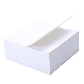 Giấy Nhắn Sticky Note Deli 98X98Mm - 400 Tờ - Màu Trắng/Nâu - 1 Tệp - 21708/21709