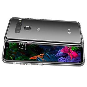 Ốp lưng silicon dẻo trong suốt cho LG G8 siêu mỏng 0.5 mm