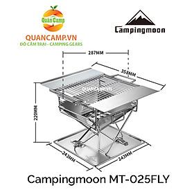 Bếp nướng dã ngoại xếp gọn Campingmoon MT-025 FLY
