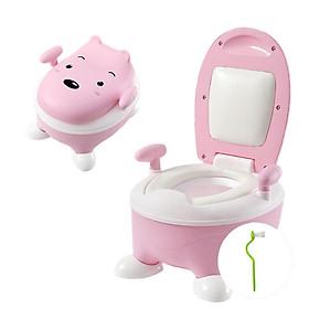 Bô Vệ Sinh Gấu Pooh (Dòng cao cấp)
