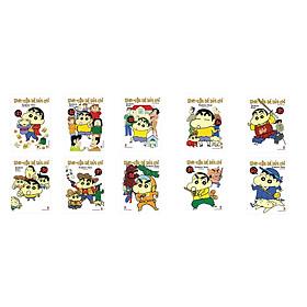 Combo Shin Cậu bé bút chì - Truyện Ngắn Tập 31 - 40 (Bộ 10 cuốn)