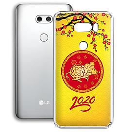 Ốp lưng điện thoại LG V30 - 01253 7943 HPNY2020 03 - Chúc mừng năm mới - Xuân Canh Tý 2020 - Silicon dẻo - Hàng Chính Hãng