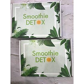 2 hộp Thực phẩm sức khỏe trà giảm cân Detox hoa quả sấy khô Smoothie - liệu trình thanh lọc giải độc đẹp da giảm mỡ 28 gói
