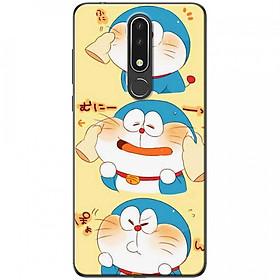 Ốp lưng dành cho Nokia 3.1 Plus mẫu 3 mèo máy Doraemon