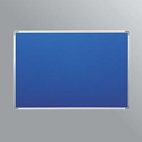 Bảng ghim nỉ treo tường - khung nhôm - kích thước 80x120cm