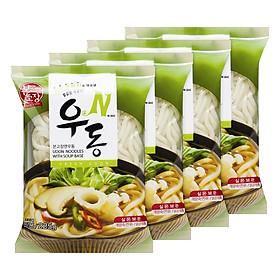 Combo 4 Gói Mì Udon N Hanil Food Vị Truyền Thống (225g / Gói)