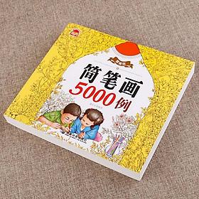 Sách tập tô 5000 hình kèm 12 bút màu cho bé