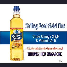 Dầu ăn Sailing Boat Gold Plus 1L