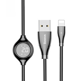 Big Eye Digital Display Data Charging Cable 8 Pin 2A 1M
