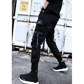Quần dài thể thao nam, quần dáng bó ống khỏe khoắn, phong cách lính New arrival 05
