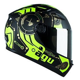 Mũ Bảo Hiểm Moto Fullface Đi Phượt Tem Time Look _ Tem Time Siêu Chất_ Phù hợp cho các chuyến đi xa_ Có kính chắn gió chống nắng, chống bụi