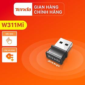 USB kết nối Wifi Tenda W311Mi tốc độ 150Mbps - Hàng Chính Hãng