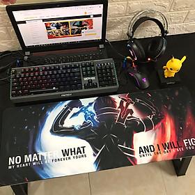 Miếng Lót Chuột, Bàn Di Chuột, mouse pad anime Sword Art Online cỡ lớn (80x30x0.3)