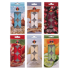 Combo 6 hộp nến tealight thơm cao cấp NYCandle FtraMart (6 mùi hương)