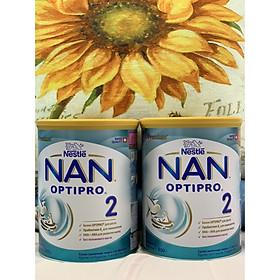 Combo 2 hộp Sữa Bột Nestlé NAN Nga Optipro 2 (800g) 6-12 tháng